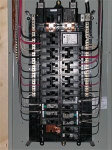 Nicely installed panel