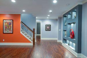 basement multi colors