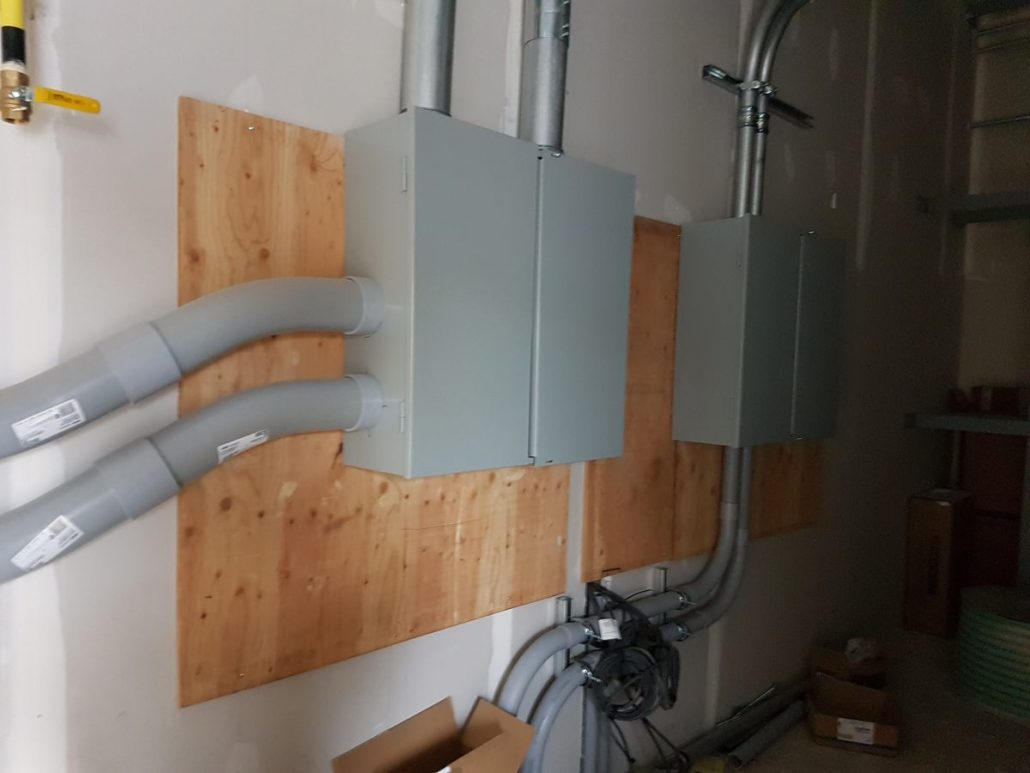 ct cabinet install for electrical
