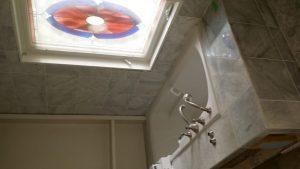 bathtub reno and tile job