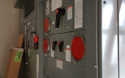 Distribution meter electrical