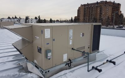 hvac rooftop unit electrical installation